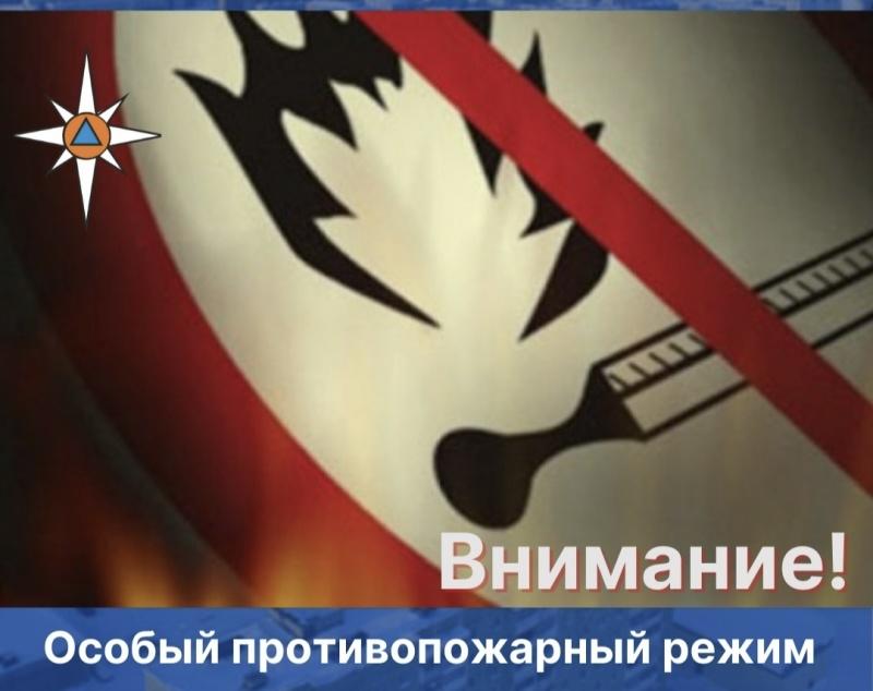 Внимание: на территории Пермского края введен особый противопожарный режим